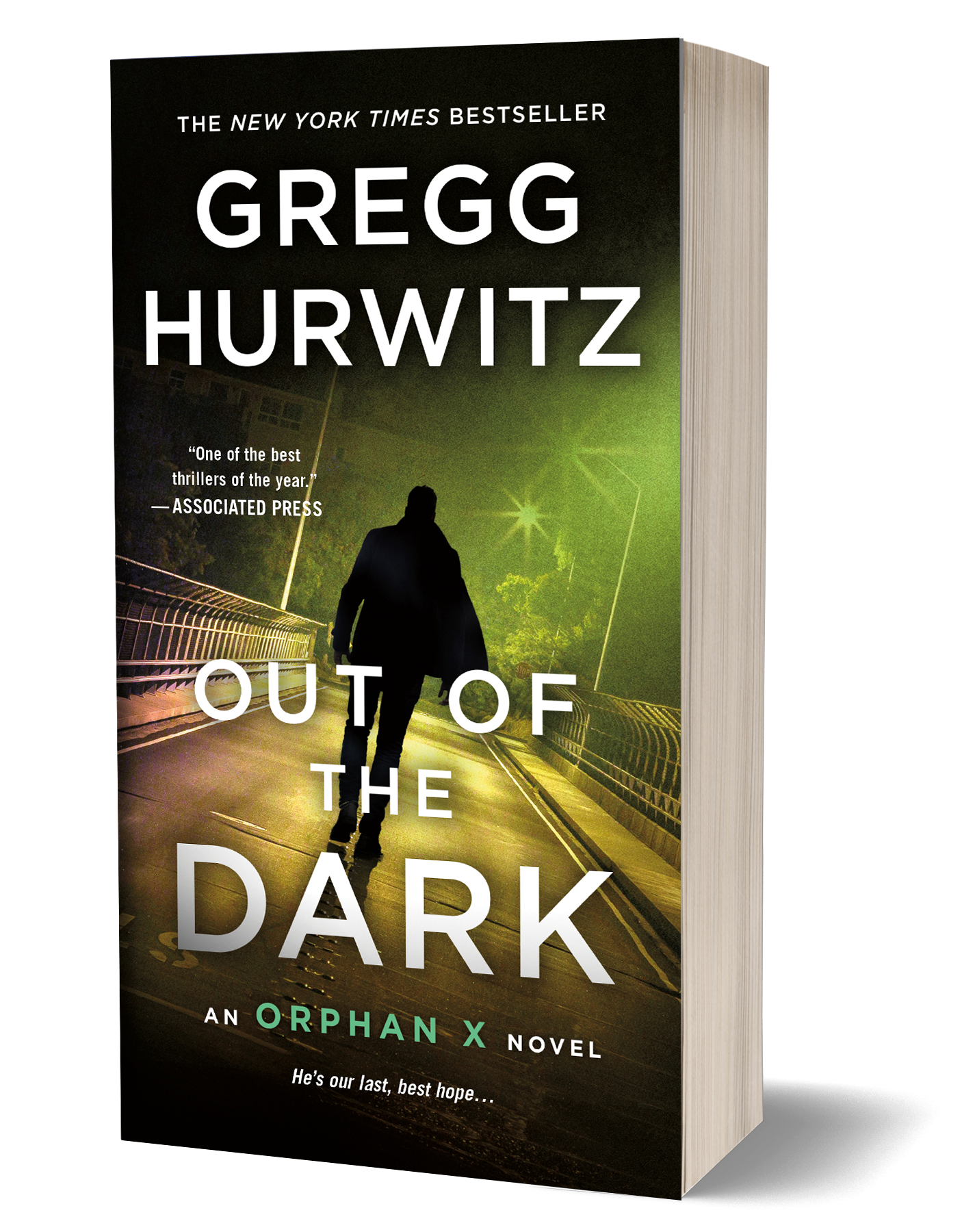 out of the dark by gregg hurwitz orphan x 4