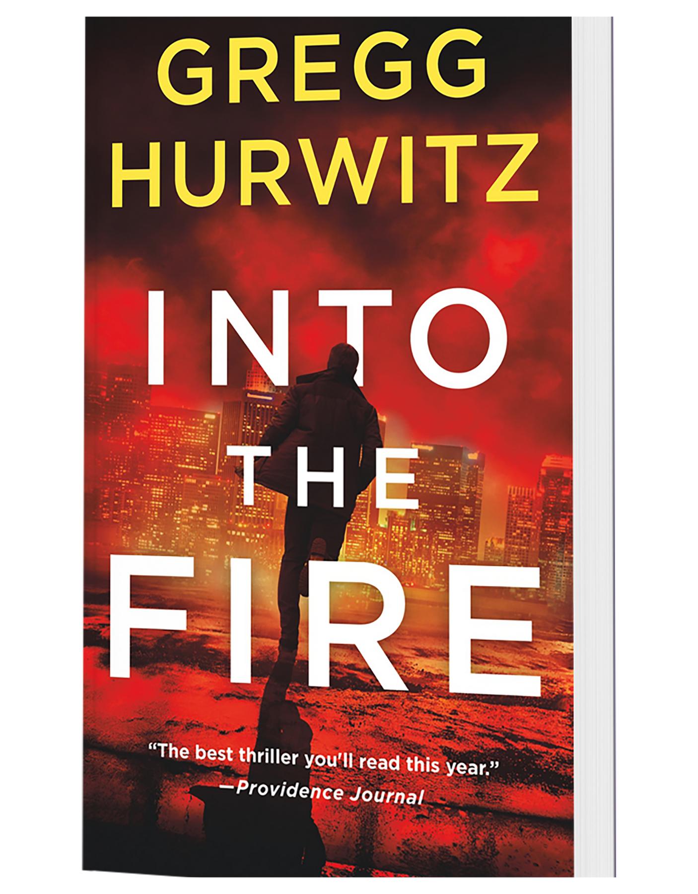 Into Fire paperback copy